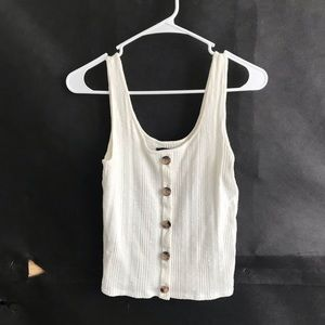 Brand New American Eagle Tank Top White Womens S
